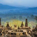 Úchvatný buddhistický chrám Borobudur