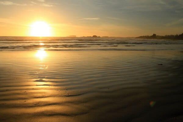 Pláž nedaleko městěčka Toffino