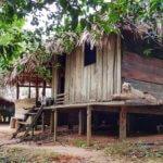 Vesnička domorodců v Amazonii