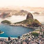 Rio de Janeiro, výhled na Botafogo a Cukrovou homoli
