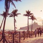 Pláž Ipanema v Rio de Janeiro