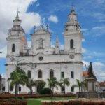 Koloniální architektura ve městě Belém