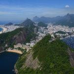 Panorama Ria s Červenou pláží a Copacabanou