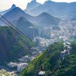 Lanovka na vrchol Cukrové homole v Riu