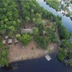 Lodge v Amazonském pralese