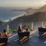 Západ slunce na Cukrové homoli v Riu