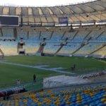 Legendární stadion tadion Maracaná v Rio de Janeiro