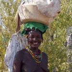 Žena kmene Zemba