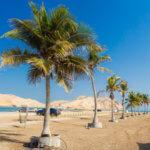 Ománská plážová pohoda