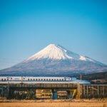 Doufujeme, že z vlaku zahlédneme magickou horu Fuji