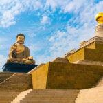 Fo Guang Shan - socha sedícího Buddhy