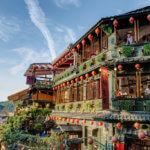 Historický čajový dům v Juifen