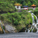 Changchum Temple v Národním parku Taroko