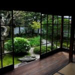 Interiér japonského domu
