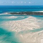 V NP Bazaruto vytvářejí ostrůvky a písečné duny jedinečnou scenérii