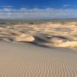 Duny na poušti Gobi