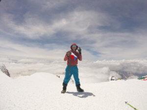 Na vrcholu Elbrusu