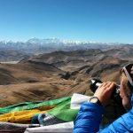 Tibet, výhled na 5 osmitisícovek