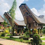 Tongkonany v turistické vesnici Kete Kesu už postrádají svůj genius loci