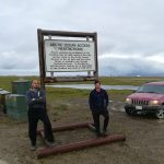 Přístup k Severnímu ledovému oceánu odepřen – Prudhoe Bay, Aljaška