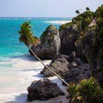 V okolí města Tulum je několik nádherných pláží s bílým pískem