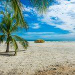 Typická pláž Mayské riviéry