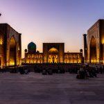 Náměstí Registán, Samarkand