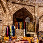 Obchůdek s šátky, Khiva