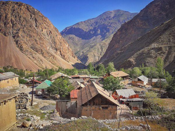 Malebná vesnice uprostřed Fanských hor