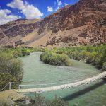 Jedinou možností, jak se na Pamíru dostat do odlehlých vesnic jsou staré lanové mosty