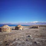 Ve východním Pamíru žijí kyrgyzští pastevci v tradičních jurtách