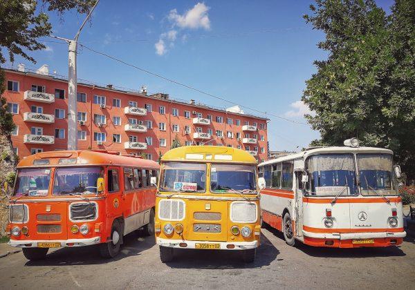 Vozový park v Tádžikistánu již něco pamatuje