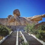 Jedna z největších soch Lenina v celém bývalém Sovětském svazu se nachází na okraji města Istaravshan
